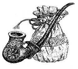 Кисет-»капшук» та люлька
