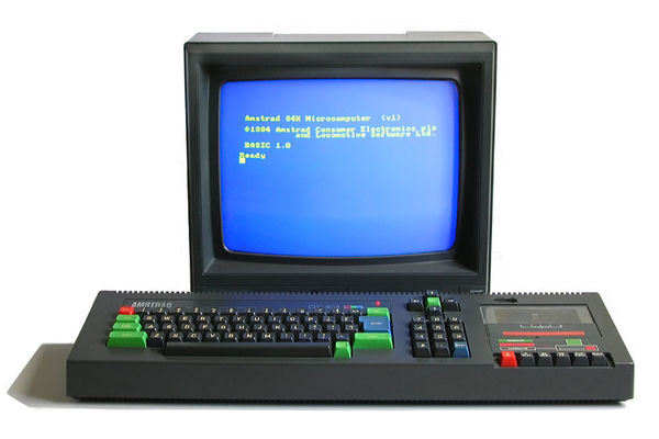 1984 год: Amstrad CPC464