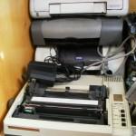 Старые принтеры