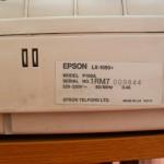 Матричный принтер A3 Epson LX-1050+